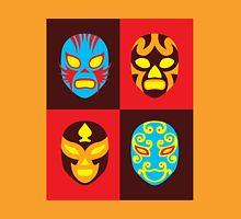 Mexican Wrestling Masks, Luchador Unisex T-Shirt