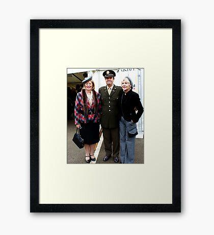 The Pickering War Weekend 2011 12 Framed Print