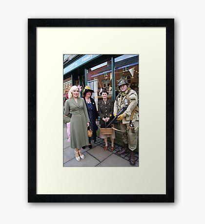 The Pickering War Weekend 2011 16 Framed Print