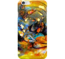 lucid dreaming in the safe shelter of an ink blot  iPhone Case/Skin