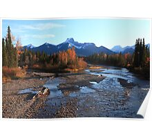 Autumn in the Rockies II Poster