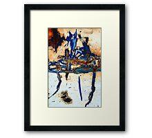 RAVIN Framed Print