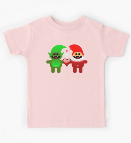 SANTA&LITTLE HELPER Kids Tee