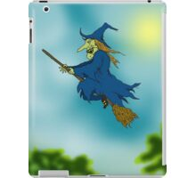 Blue sky Witch. iPad Case/Skin