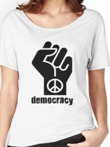 Democracy Women's Relaxed Fit T-Shirt