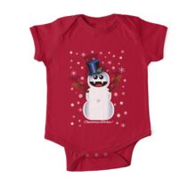 SNOWMAN One Piece - Short Sleeve