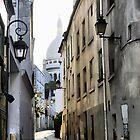 Montmartre Cobblestones by Larry Lingard-Davis