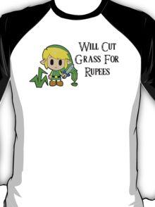 Link Will Cut Grass For Rupees T-Shirt