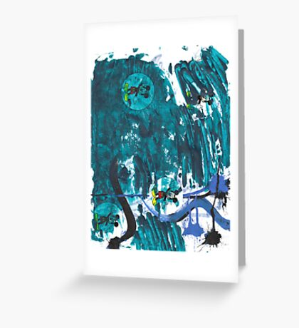 In Lack Of A Better Term - American Monster Mash Reprise Greeting Card