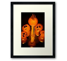Tangerine Tragedy Framed Print