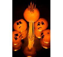 Tangerine Tragedy Photographic Print