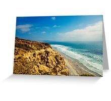 The Ocean Hills of Torrey Pines Greeting Card