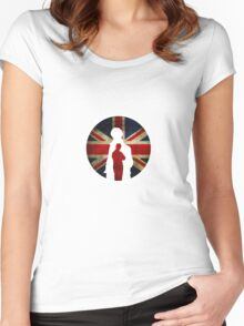 Queen and Country II Women's Fitted Scoop T-Shirt