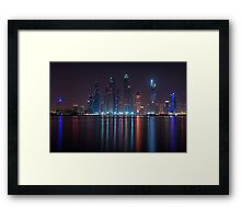 Tallest Block on the Planet Framed Print