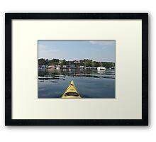 Tobermory Calm Framed Print