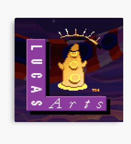 Maniac Mansion - Day of the Tentacle #02 Canvas Print