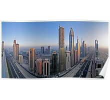Sheikh Zayed Road Poster