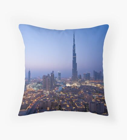 South Ridge Sunset Throw Pillow