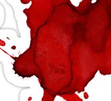 halloween blood  Sticker
