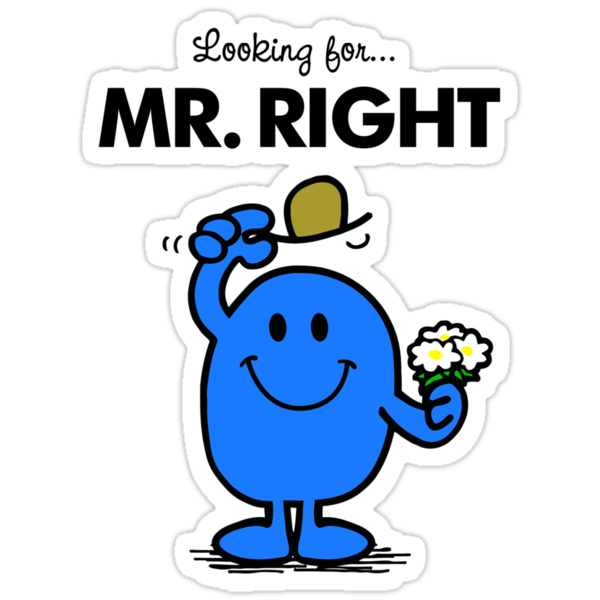 Looking for... Mr Right by Brother Adam