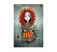 Mary Mary quite contrary! Art Print