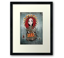 Mary Mary quite contrary! Framed Print