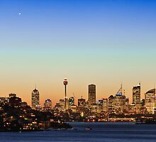 Sydney city sky line  by Adriano Carrideo