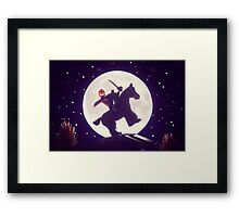 The Legend of Sleepy Hollow Framed Print