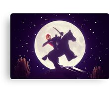 The Legend of Sleepy Hollow Canvas Print