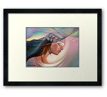 Silense. Framed Print