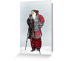 Smile Rudolph Greeting Card