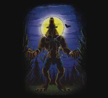 Werewolf Halloween One Piece - Short Sleeve
