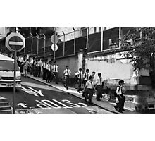 Schoolboys, Hong Kong Photographic Print