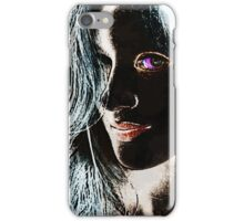 The Woman in Color iPhone Case/Skin