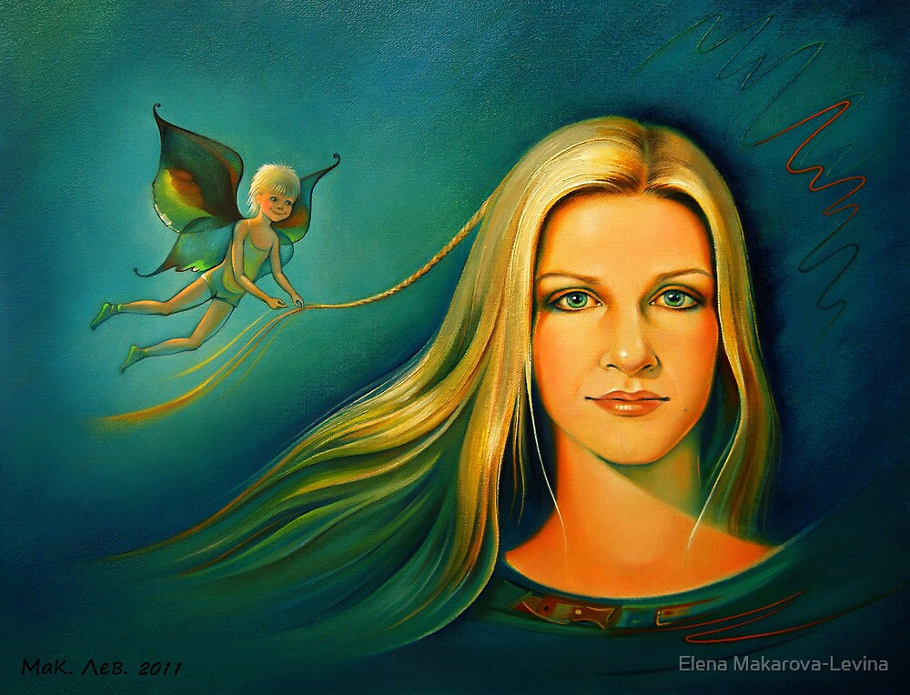 Fleeting vision. by Elena Makarova-Levina