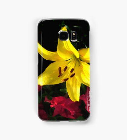jaune et rouge Samsung Galaxy Case/Skin