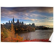 Fall colours - Ottawa, Ontario Poster