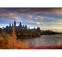 Fall colours - Ottawa, Ontario Photographic Print
