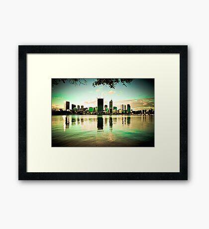City Skyline Framed Print