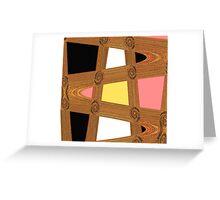 Lifes Pathways Greeting Card