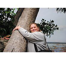 I am A Tree Hugger Photographic Print