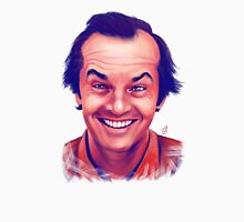 Smiling young Jack Nicholson digital painting Unisex T-Shirt