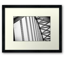 C&D Canal Bridge Framed Print
