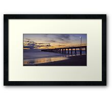 Evening  Quiet  Framed Print