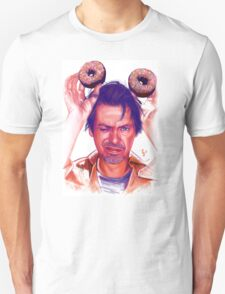 Steve Buscemi and donuts digital painting T-Shirt