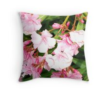 Oleander from Espana Throw Pillow