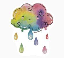Kawaii Rainbow Cloud Baby Tee