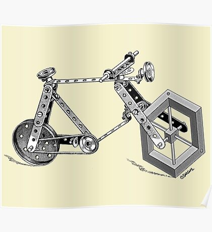 Impossible Bike Poster