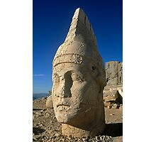 Mount Nemrut in central Turkey Photographic Print