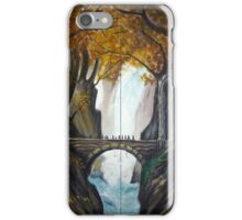 Bridge in Mirkwood  iPhone Case/Skin
